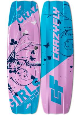 Planche CrazyFly Girls 2019 - CrazyFly Kiteboarding