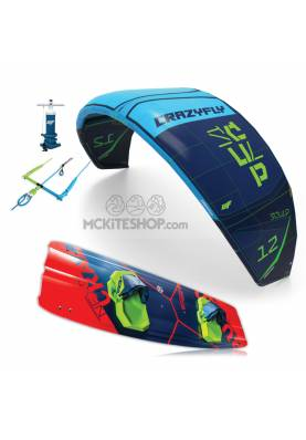 Pack Kitesurf Crazyfly Sculp & Bulldozer 2019 - CrazyFly