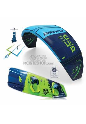 Pack Kitesurf Crazyfly Sculp & Raptor 2019 - CrazyFly
