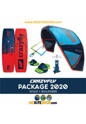 copy of Pack Kitesurf Crazyfly Sculp & Bulldozer 2020 -
