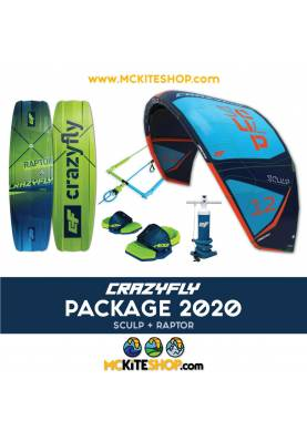 Pack Kitesurf Crazyfly Sculp & Raptor 2020 - CrazyFly