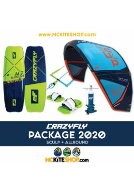 Pack Kitesurf CrazyFly Sculp & Allround 2020 - CrazyFly