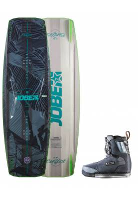 Wakeboard Jobe Conflict 2020 & chausses Charge - JOBE