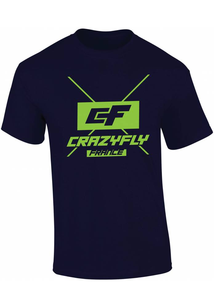 T-Shirt Crazyfly France - CrazyFly Kiteboarding