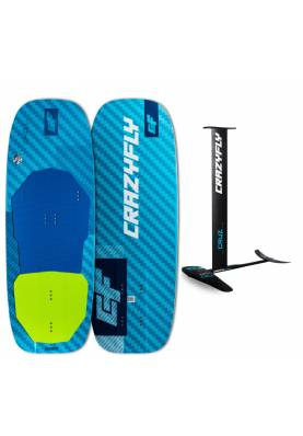 Pack Crazyfly Cruz 690 + planche Chill - CrazyFly Kiteboarding
