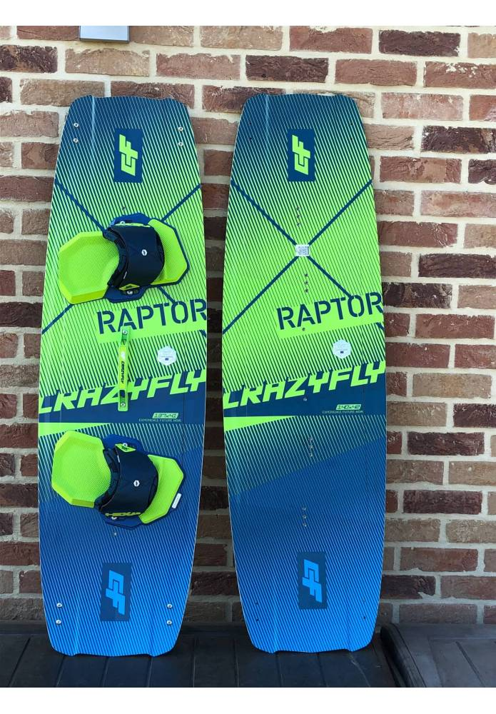 Planche d'occasion Crazyfly Raptor 2020 complète - CrazyFly
