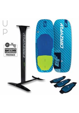 Pack Kitefoil Crazyfly Chill + UP Foil - CrazyFly Kiteboarding