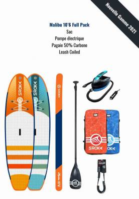 Pack Stand Up Paddle Gonflable Sroka Fusion - SROKA Watersports