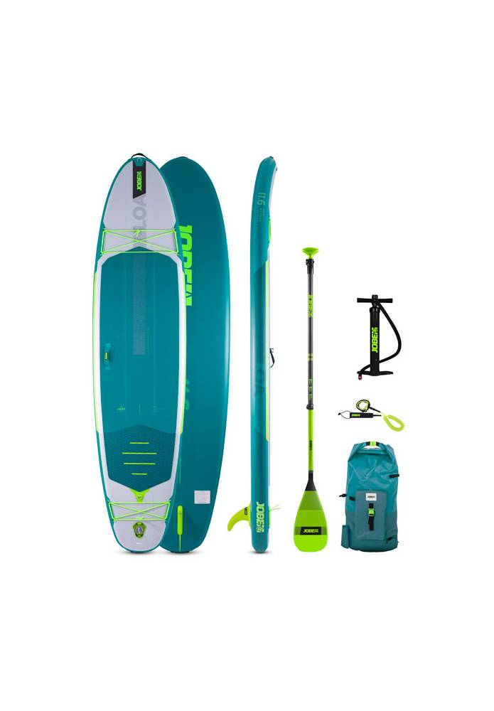 Pack Stand up Paddle (SUP) Gonflable Jobe Loa 11.6 - JOBE