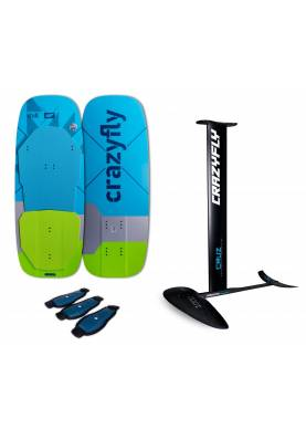 Pack Foil Crazyfly Cruz 1000 + Chill Board 2021 - CrazyFly