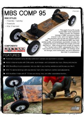 Mountainboard MBS COMP 95 - MBS Mountainboard
