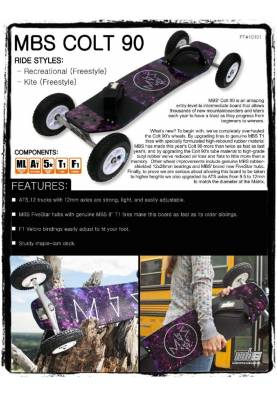 Mountainboard MBS Colt 90 - MBS Mountainboard