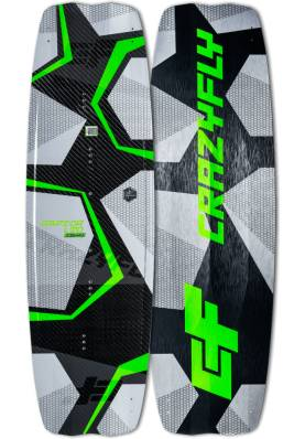 Planche CrazyFly Raptor LTD Neon 2019 - CrazyFly Kiteboarding