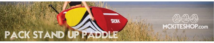 Pack complet Stand-Up Paddle (SUP Gonflable)